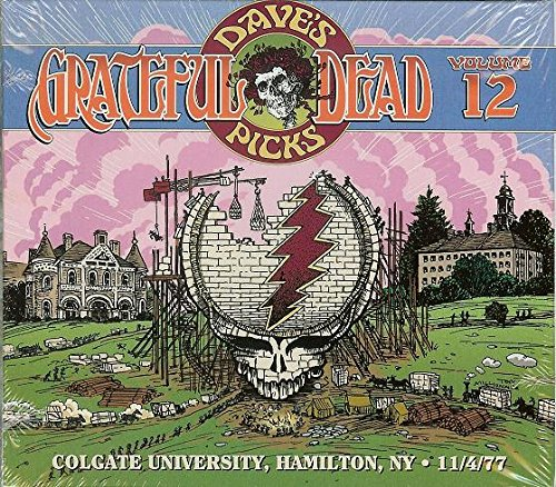 Grateful Dead Dave's Picks 12 album cover artwork