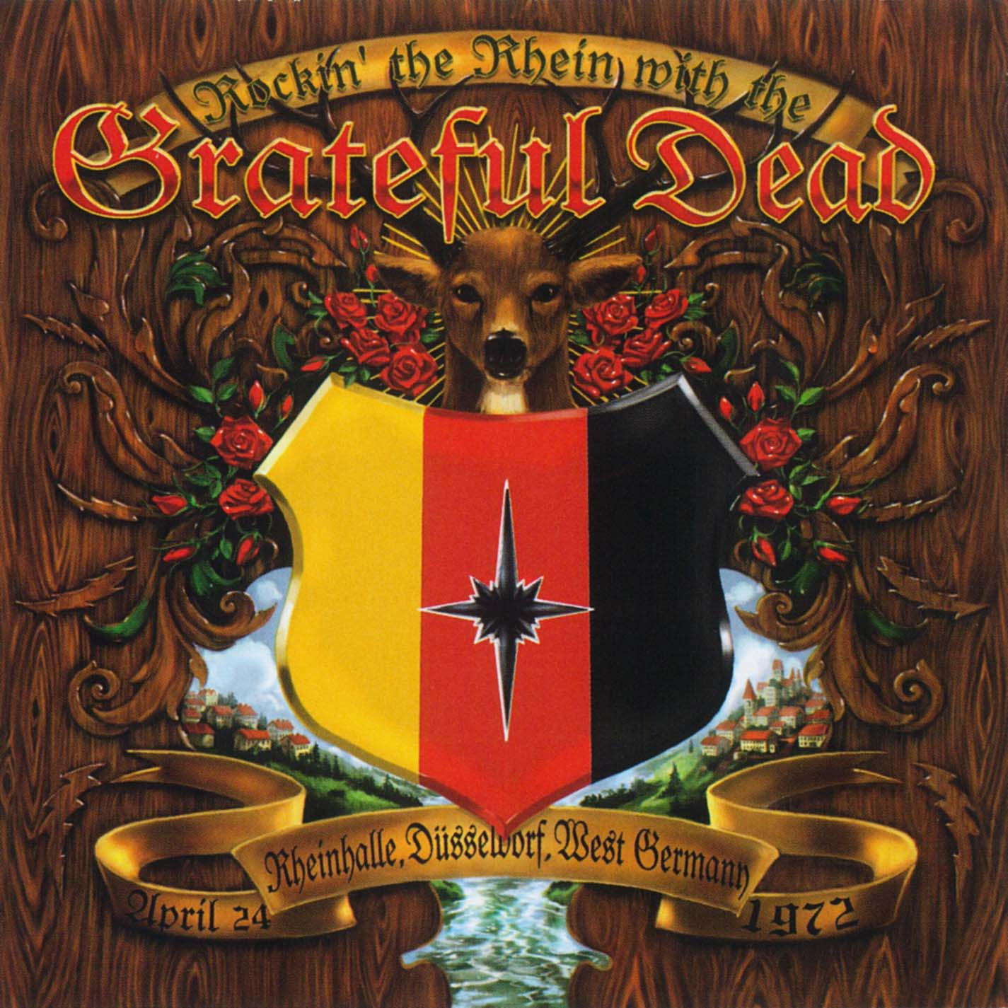 Grateful Dead Rockin' the Rhein album cover artwork